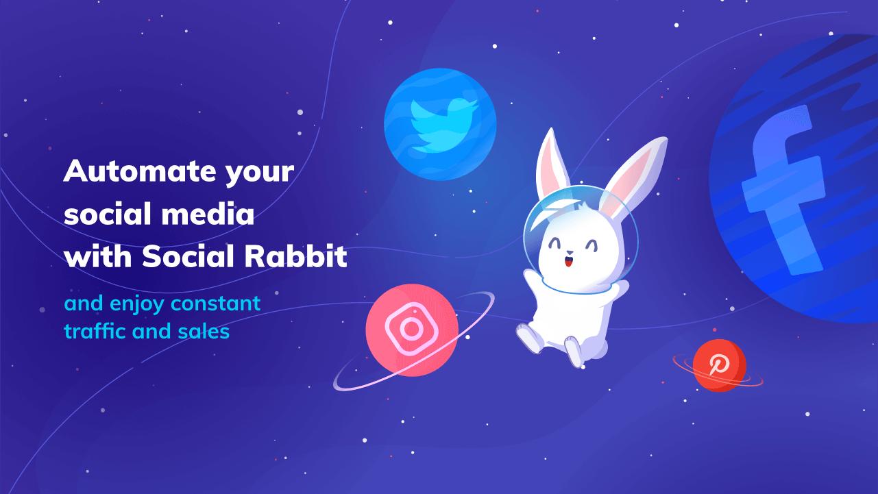 Social Rabbit là một công cụ mà bạn cài đặt trên trang web của mình để cho phép nó tự động tạo các bài đăng cho các tài khoản xã hội của bạn